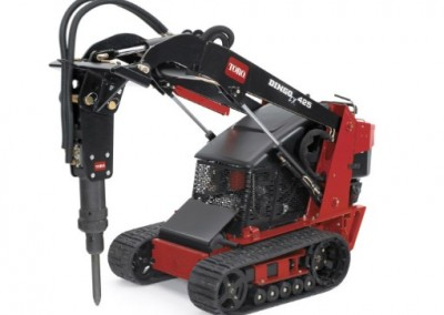 Breaker for Walk-Behind Skidsteer